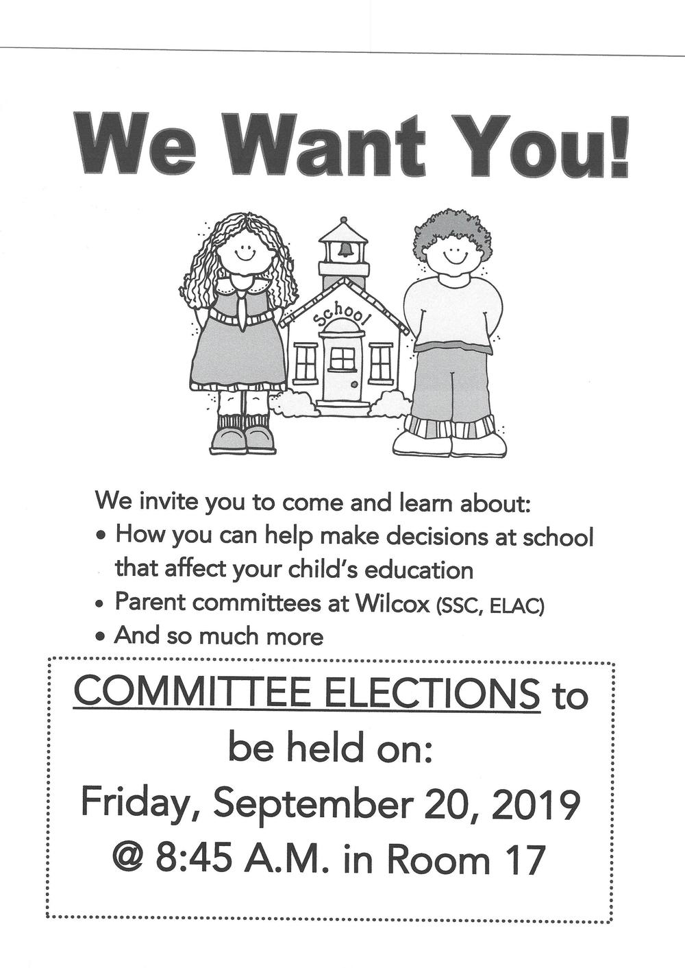 Flyer Committe Elections
