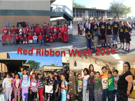 Red Ribbon Picture Collage